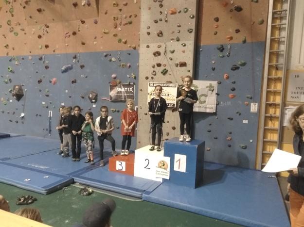manon podium Giberville 2018